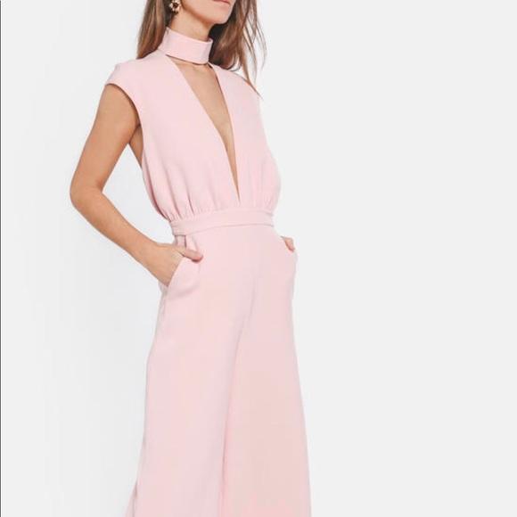 f71ce659277 AQ AQ Dakota Jumpsuit in Pink